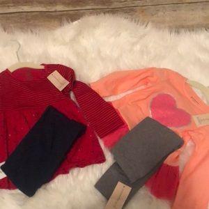 Bundle set with leggings
